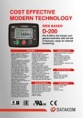 D-200 Genset Controller with MPU