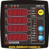 DKM-405-S Сетевой анализатор, с I/O 96x96mm
