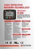 D-200 MK2 Genset Controller with MPU