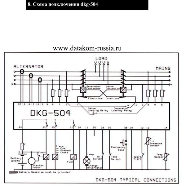 cxema dkg504